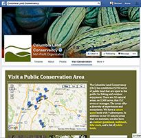 Columbia Land Conservancy Content on Facebook